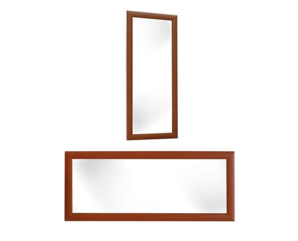 Predsoblje APOLON PA3 Ogledalo Trešnja