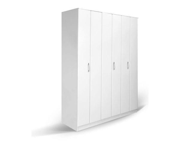 Garderober FORTUNA SOFT F3 Belo