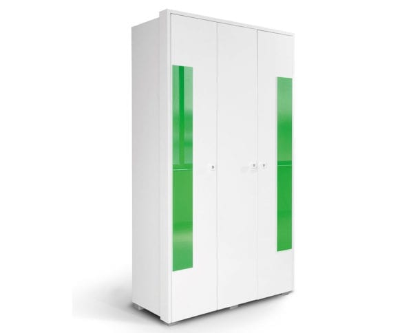 HAPPY Ormar O3V2F Belo-Zeleno
