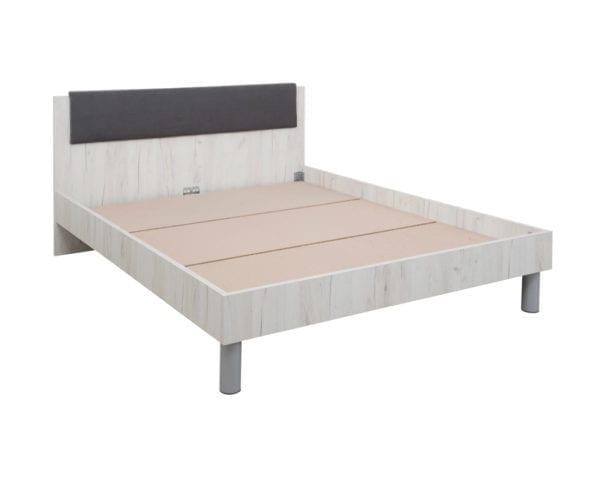 Bračni krevet INTRO NEW Snezni hrast