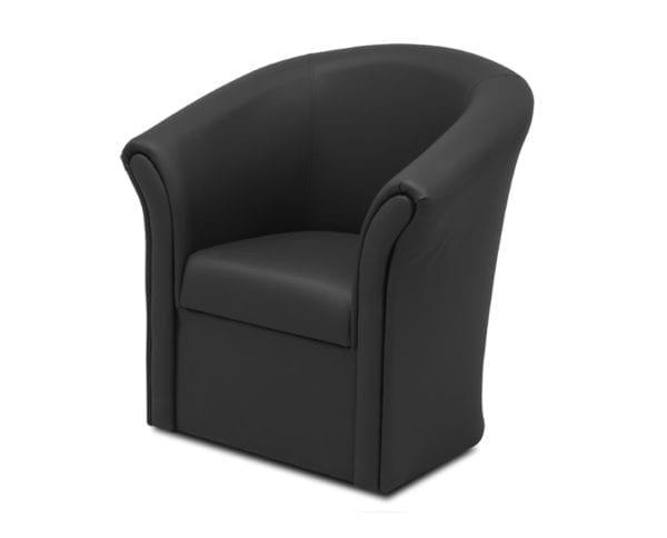 Fotelja POTKOVICA VI Crno