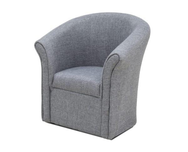 Fotelja POTKOVICA XI Sivo