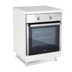 Kuhinja IN MDF D 60 R peć Belo sjaj
