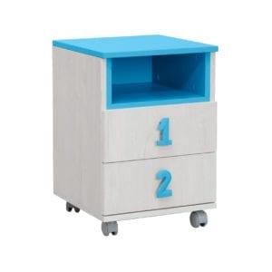 Numero Komoda 2F Niša Plavo