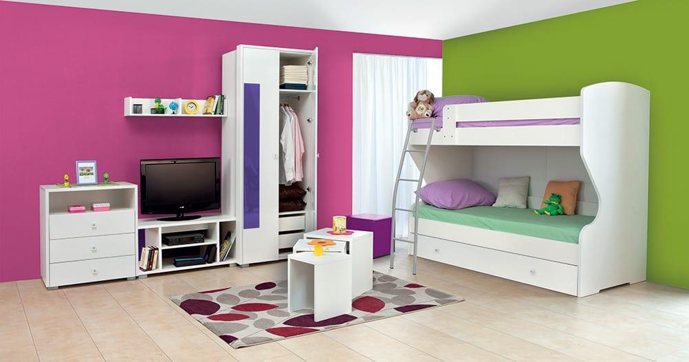 Dečija soba-Happy-Belo-1