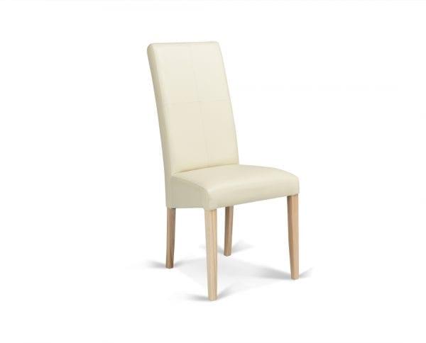 Trpezarijska stolica CROS Hrast-Bež
