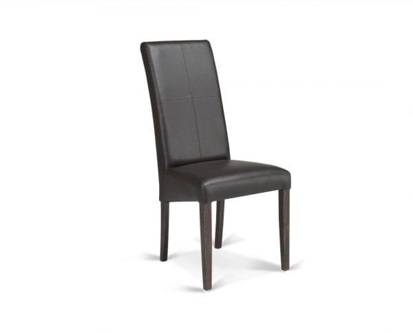 Trpezarijska stolica CROS Wenge-Braon