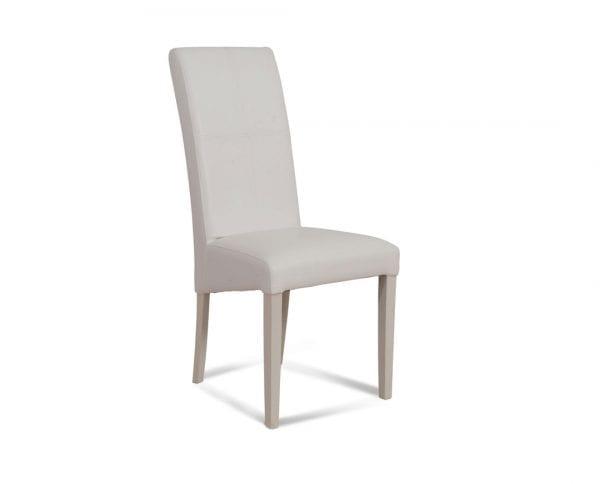 Trpezarijska stolica CROS Belo