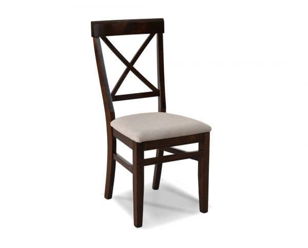 Trpezarijska stolica DRINA Tamni hrast-Verona 24