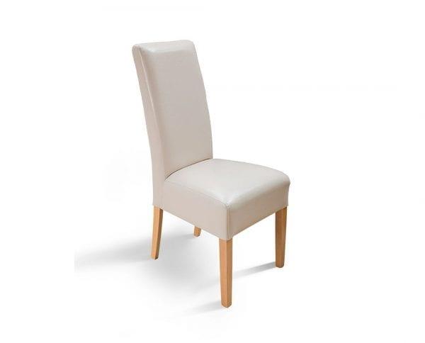 Trpezarijska stolica PALMA Natur-Bež