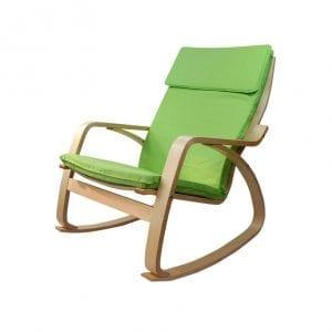 Stolica za ljuljanje ROCKER Zeleno
