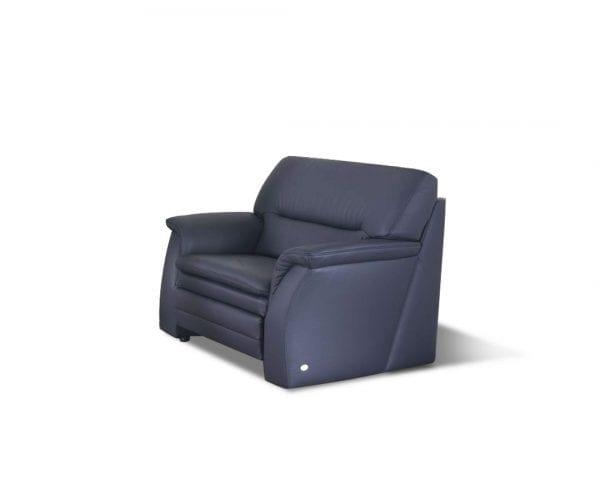 Ležaj (fotelja) 2202 sa prostorom za odlaganje- koža