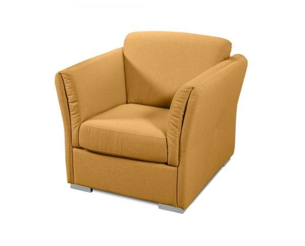 Fotelja UNIQA Žuto