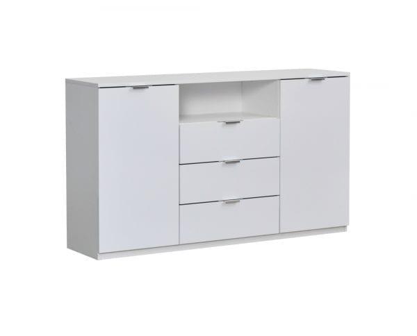 Elegance-Line-Komoda-150-Belo sjaj