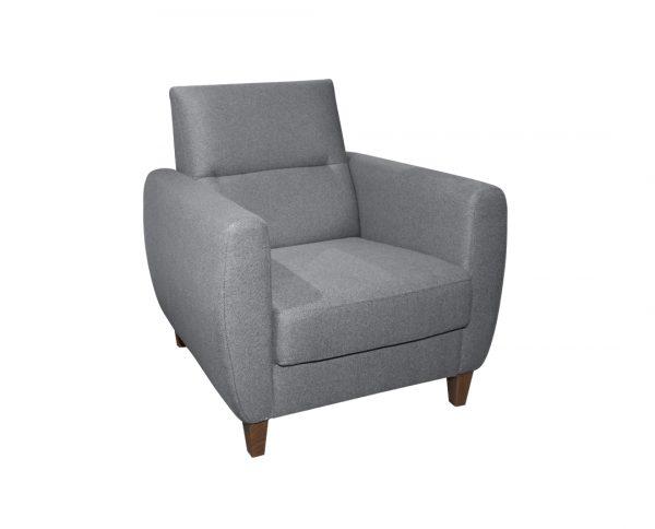 Fotelja-Perla-sivo