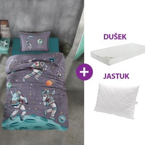 Set - Dusek, jastuk i posteljina